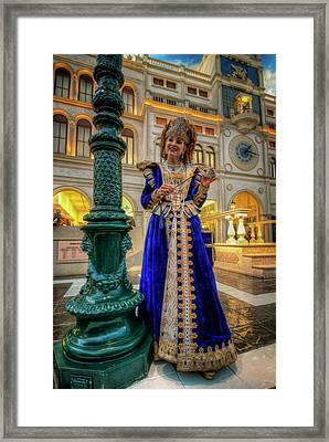 Susanne Framed Print by Stephen Campbell