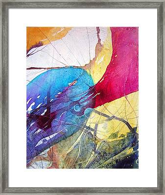 Sushi On Pluto Framed Print