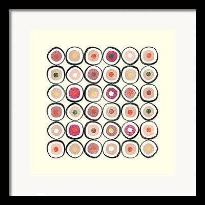 Sushi Framed Prints