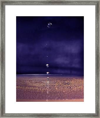 Framed Print featuring the photograph Suspended by Alan Raasch