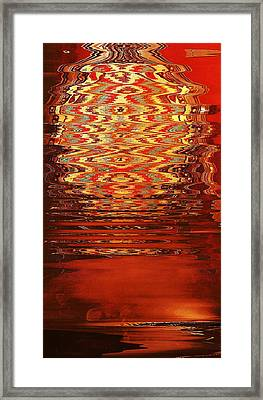 Suspended Belief Framed Print by Anne-Elizabeth Whiteway