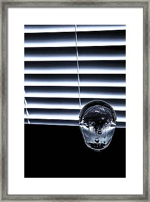 Framed Print featuring the photograph Suspended by Eric Christopher Jackson