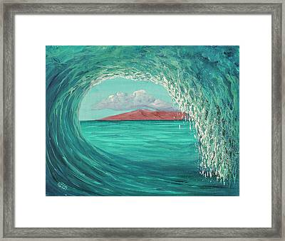 Framed Print featuring the painting Suspended In Time by Darice Machel McGuire
