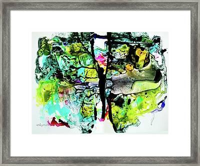 Suspended Framed Print