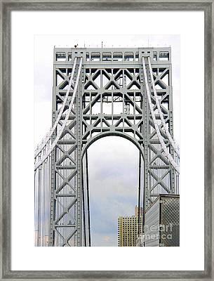 Suspension Framed Print by Jody Frankel