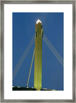Suspension Pole Framed Print