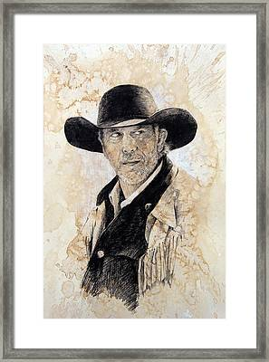 Suspicious Framed Print by Debra Jones