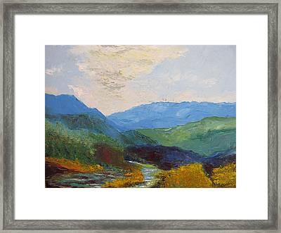 Susquahanna Framed Print by Belinda Consten
