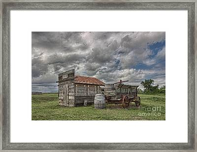 The Sutler's Store Framed Print