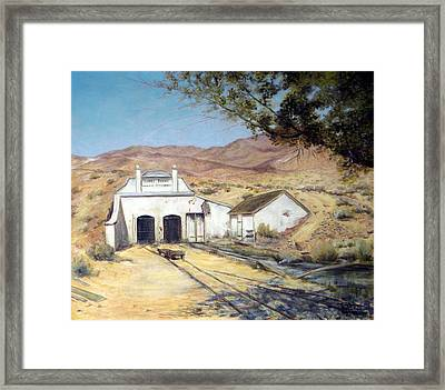 Sutro Nevada Framed Print by Evelyne Boynton Grierson