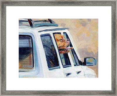 Suv Ammo Framed Print by Kimberly Santini