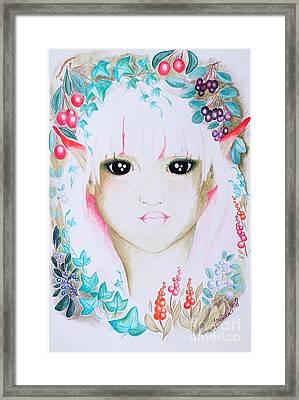 Suvi Framed Print by Tiina Rauk