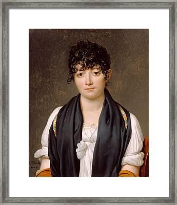 Suzanne Le Peletier De Saint-fargeau Framed Print