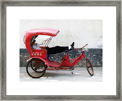Suzhou 004 Framed Print by Per Lidvall