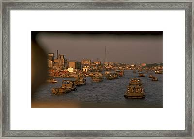 Suzhou Grand Canal Framed Print