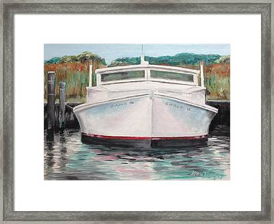 Suzie Q Framed Print by Stan Tenney