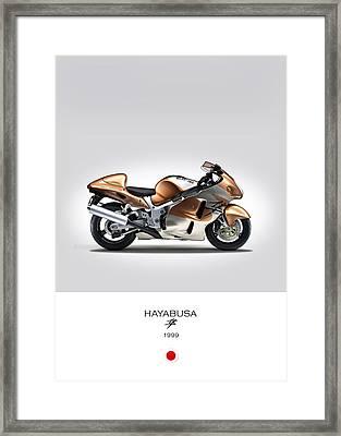 Suzuki Hayabusa 1999 Framed Print