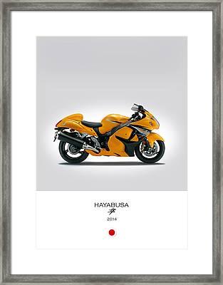 Suzuki Hayabusa 2014 Framed Print by Mark Rogan