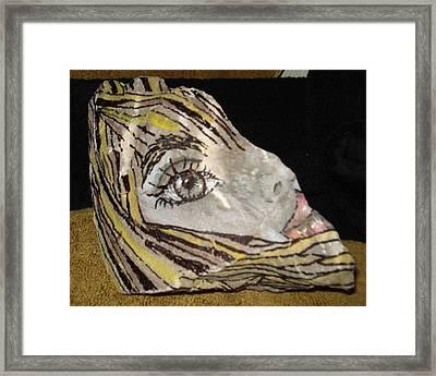 Suzy Q Framed Print by Ellen Adler