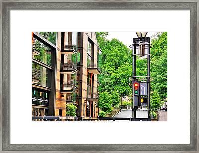 Sw Broadway Framed Print
