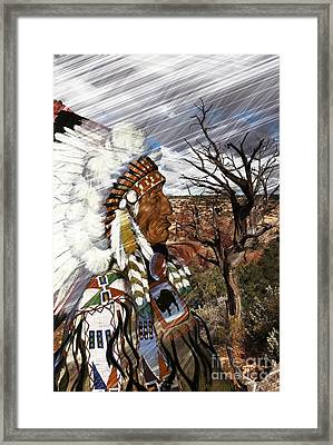 Sw Indian Framed Print by Liane Wright