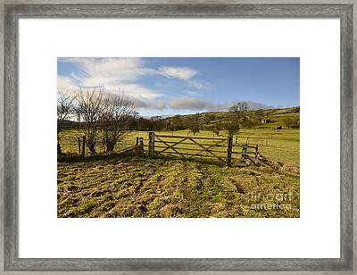 Swaledale Walks Framed Print