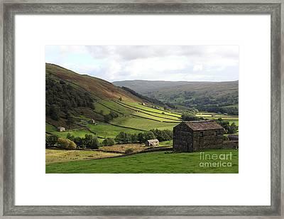 Swaledale  Yorkshire Dales Framed Print