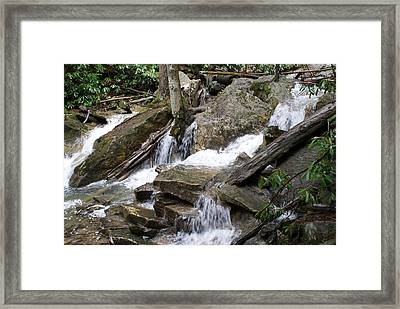 Swallow Falls Framed Print by Heather Green