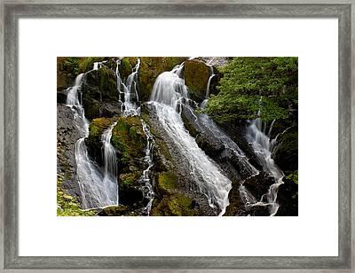 Swallow Falls Framed Print