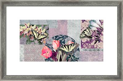 Swallowtail Butterfly 1 Framed Print by JQ Licensing