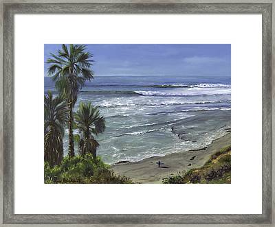 Swami's 5th Dance Framed Print
