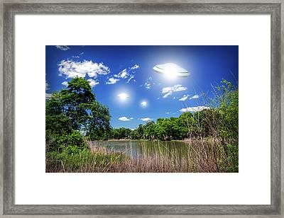 Swamp Gas Framed Print by Brian Wallace