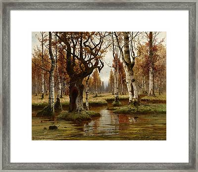 Swamp Framed Print by MotionAge Designs