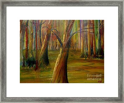 Swamp Magic Framed Print