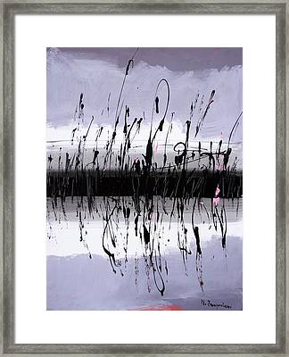 Swamp Framed Print by Mario Zampedroni