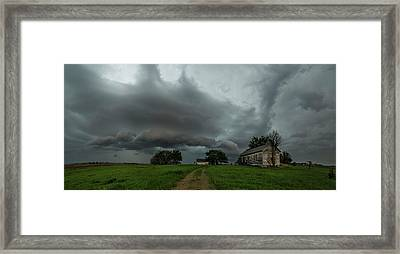 Framed Print featuring the photograph Swan by Aaron J Groen