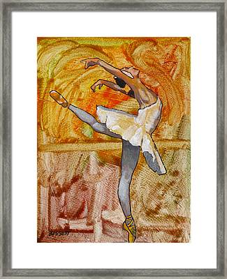 Swan Lake 2 Framed Print by Robert Bissett