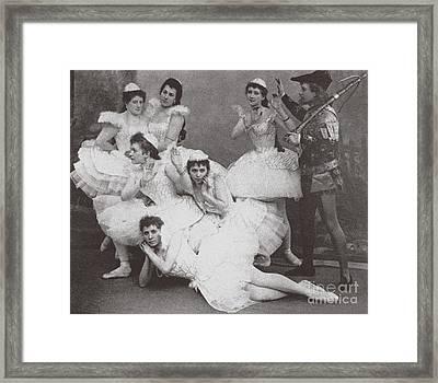 Swan Lake, Mariinsky Theatre, 1895  Framed Print
