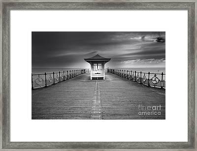 Swanage Pier Framed Print by Nichola Denny