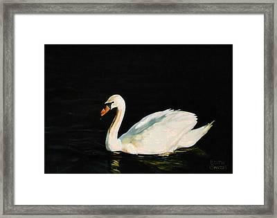 Swany River Framed Print