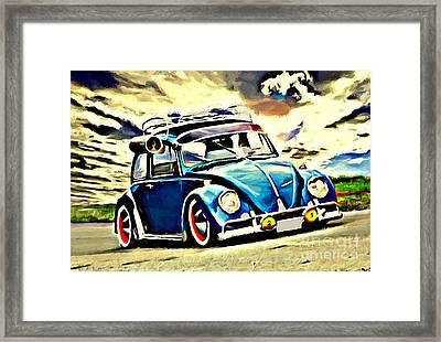 Swap Cooler Framed Print by S Poulton