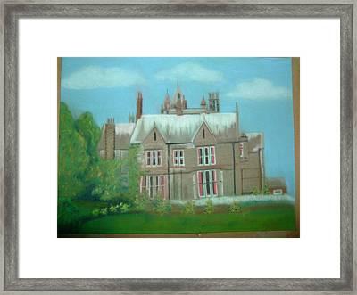 Swarcliffe Hall Framed Print by Mark Dermody