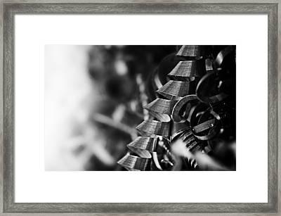 Swarf Framed Print