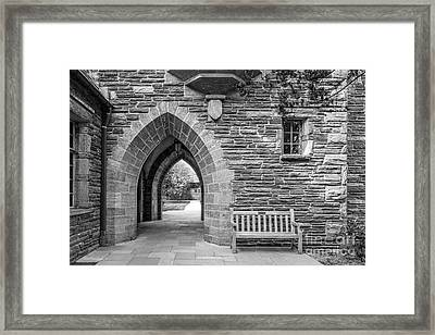 Swarthmore College Bond Hall Framed Print by University Icons