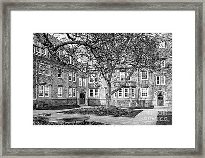 Swarthmore College Wharton Hall Framed Print by University Icons