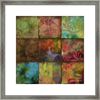 Swatchbox II Framed Print by Mindy Sommers