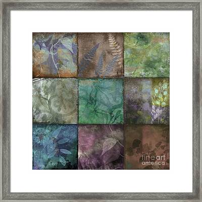 Swatchbox IIi Framed Print by Mindy Sommers
