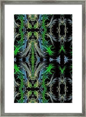 Sway Movement Art Framed Print