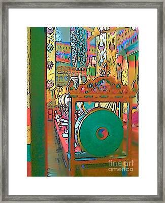 Swayambhunath Framed Print by Lisa Dunn