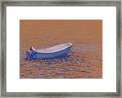 Swedish Boat Framed Print
